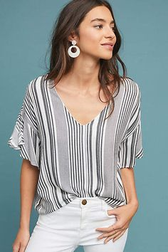 Blouses for Women Boho Outfits, Fashion Outfits, Vogue, Weekend Wear, Capsule Wardrobe, Blouses For Women, Anthropologie, Style Inspiration, Casual