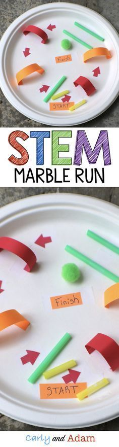 For this real world STEM activity students are asked by a toy company to design and create a marble run.