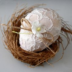 lacy egg by bailiwickdesigns, via Flickr