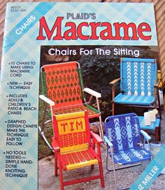 Get rid of that nasty worn webbing and redo your lawn chairs in style!