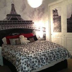 Paris Themed Bedroom Design Ideas