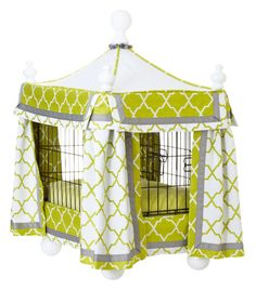 Pet need to spend some time in a crate? Make it attractive with these options and ideas