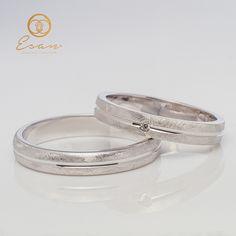 Verighete din aur alb cu diamant ESV65 Aur, Wedding Rings, Engagement Rings, Weddings, Jewelry, Enagement Rings, Jewlery, Jewerly, Wedding