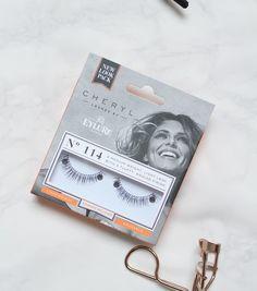 Cheryl Cole false lashes