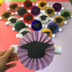 Gelişim raporu Graduation Cards Handmade, Graduation Crafts, Graduation Theme, Kindergarten Graduation, Graduation Decorations, Grad Gifts, Diy Party Decorations, Diy And Crafts, Crafts For Kids