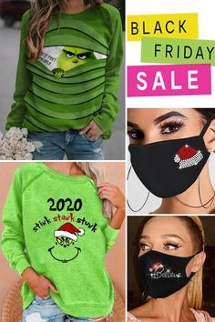 Holiday Outfits, Black People, Grinch, Christmas Crafts, Cute, Stuff To Buy, Clothes, Collection, Fashion