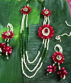 Floral Art Info & Review | Trousseau & Gift Packaging in Mumbai,Pune #floraljewellery #wedmegood