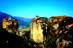 Meteora, Greece Over The Years, Mount Rushmore, Greece, Around The Worlds, Mountains, Pictures, Nature, Travel, Greece Country