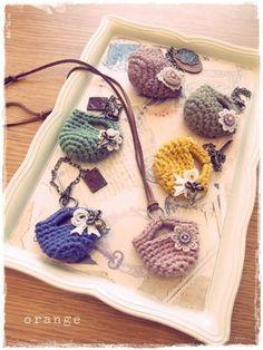 crochet mini bag
