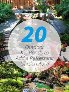 20 Outdoor Koi Ponds to Add a Refreshing Positive Garden Aura Try a pond for your retreat! Backyard Garden Landscape, Backyard Gazebo, Pond Landscaping, Small Backyard Gardens, Ponds Backyard, Backyard Retreat, Patio, Koi Ponds, Garden Pond
