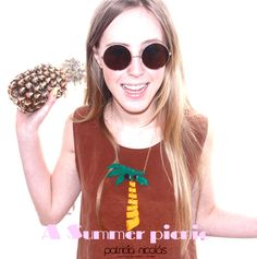OMG the palm tree necklace ! (Summer Picnic collection )