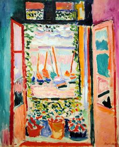 Henri Matisse - Open Window, Collioure at National Art Gallery Washington DC