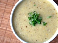 Chickpea Flour Soup -- Serious Eats. It may look like vomit, but it's delicious, especially when you add some vinegar and other spices to the recipe.