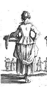 Working class costume of 17th century women  http://www.12eyes.co.uk/caroline/ordwomen