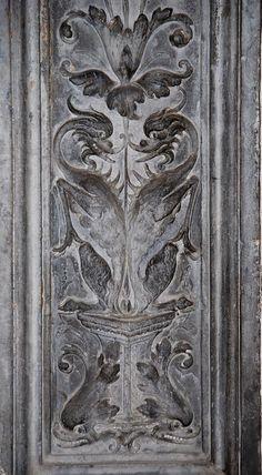 Орнамент и стиль в ДПИ - Гротески портала Chiesa della Magione, Палермо