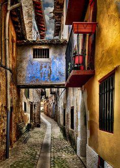 Vallderoures/Valderrobles Teruel Spain