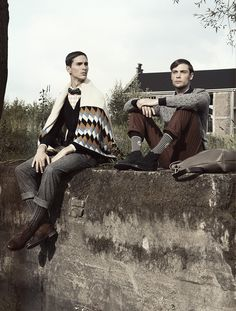 Oskar's work | The Gallant Hiking Men fashion editorial  Photography, art & styling direction: OSKAR ► weareoskar.com Client: Victoire M...