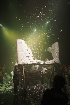 Fuerza Bruta Japan Tour 2014