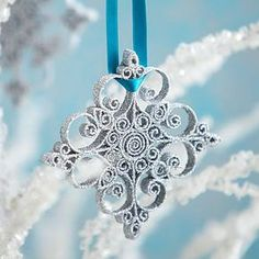 Snowflake - idea for quilling