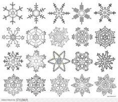 Ecolacom pl tl Gwiazdki – Her Crochet - Home & DIY Crochet Snowflake Pattern, Crochet Stars, Crochet Snowflakes, Doily Patterns, Crochet Motif, Crochet Doilies, Crochet Flowers, Crochet Stitches, Snowflake Garland