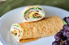 These Smoked Turkey Cobb Wraps just might be the best things in lunch history!