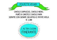 Polpette vegane per Portobello Queer Market