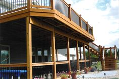 two story deck
