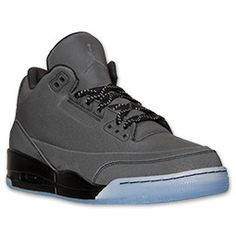 Men's Air Jordan Retro 5Lab3 Basketball Shoes| FinishLine.com | Black/Black/Clear