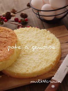 パティシエのジェノワーズ*スポンジケーキ by milk*crown [クックパッド] 簡単おいしいみんなのレシピが272万品