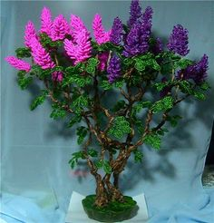 Lilac Bead (Russian)