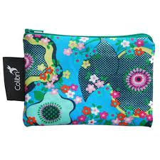 Small Reusable Snack Bag - Peace Flowers