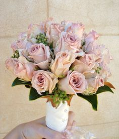 Antique Rose Bouquet with Berry Detail designed by Sweet Floral