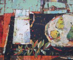 August Table | Lena Boyle Fine Art Artist Sally Ann Fitter