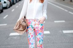 Outfits with Printed Pants | Fashion Style