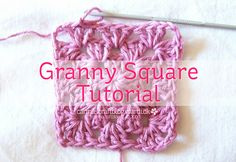 As promised, here is the granny square tutorial! I am sorry it's taken me a little while to get it to you, but here it is at last!  The be...