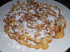 State Fair Funnel Cake Recipe-Easy recipe on how to make a funnel cake at home