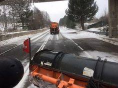 Neve nel perugino, situazione sotto controllo sulle strade