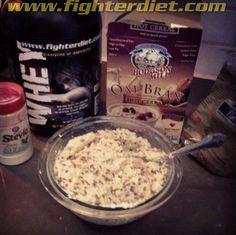 Fighter Diet Favorite: Vanilla Oat Bran