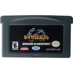 Juego Gameboy Advance Battle Bots Design & Destroy