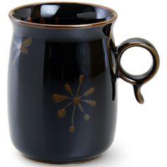 black glazed pottery mug |Pinned from PinTo for iPad|