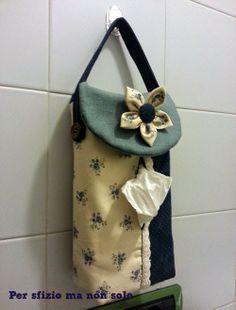 Cucito creativo - un nuovo porta kleenex patchwork