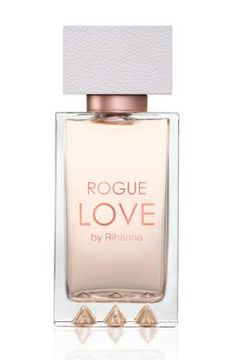 Rogue Love Rihanna-Top notes of mandarin, red berries & peach; Middle notes of jasmine sambac, honeysuckle, orchid & marshmallow; Base notes of vanilla, amber, woody notes & caramel