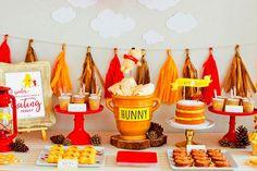 Baby shower del osito pooh - Encantador baby shower inspirado en winnie the pooh