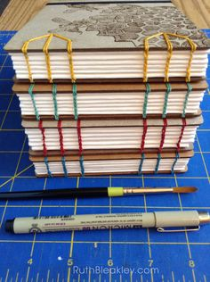 Watercolor Sketchbooks handmade by Ruth Bleakley for artists and travelers - 5