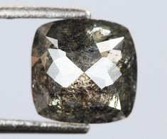 0.59 Ct, 5.3 X 5.2 X 2.2 MM, Square Shape Black Color Natural Loose Beautiful Diamond, Fancy Color Diamond, Polished Diamond, Rings, R858 by VishwaImpex on Etsy