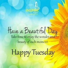 #goodmorning  & have a great #tuesday