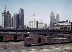 1943. Южный грузовой терминал. Чикаго