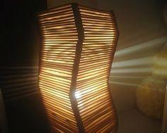 Luminária de Palito de Sorvete