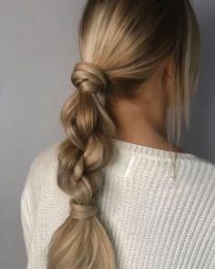 How Dutch Braid Video Tutorials & Fab Hairstyles - Hairstyles, Ha .- Wie Dutch Braid Video Tutorials & Fab Frisuren – Frisuren, Haarfarben – NailiDeasTrends How Dutch Braid Video Tutorials & Fab Hairstyles Hairstyles Hair Colors - Easy Hairstyles For Long Hair, Ponytail Hairstyles, Cute Hairstyles, Wedding Hairstyles, Hairstyle Ideas, Hairdos, Updos, Creative Hairstyles, Hair Updo