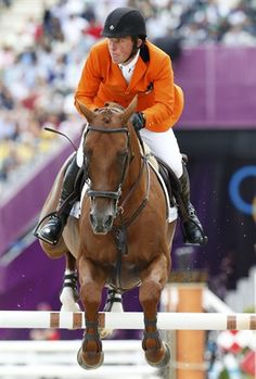 Netherlands' Gerco Schroder riding London